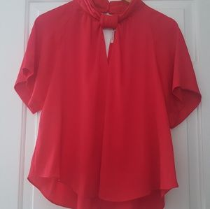 New without Tag Rachel Roy Red Blouse